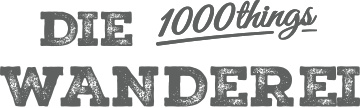 Wanderei by 1000things logo