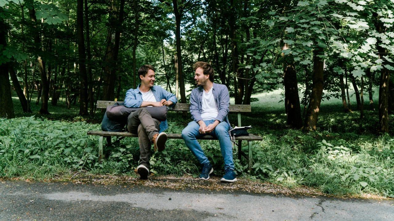 Ernst Merkinger und Jan Pöltner
