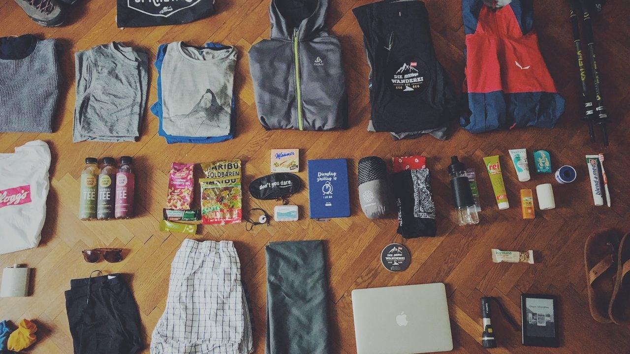 Wanderei Gepäck