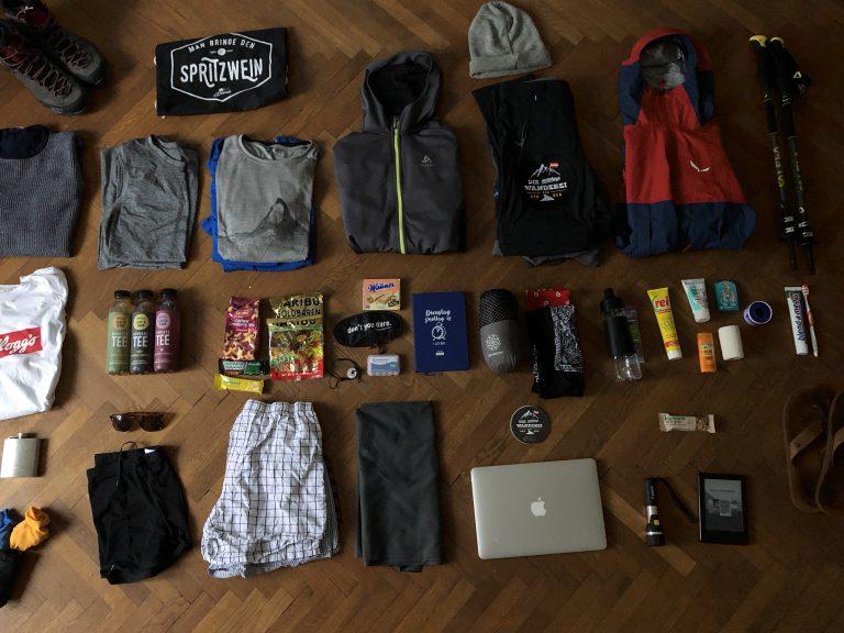 Wanderei Packliste