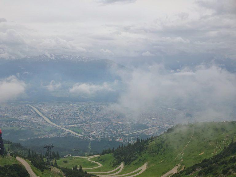 Ausblick Innsbruck Wanderei