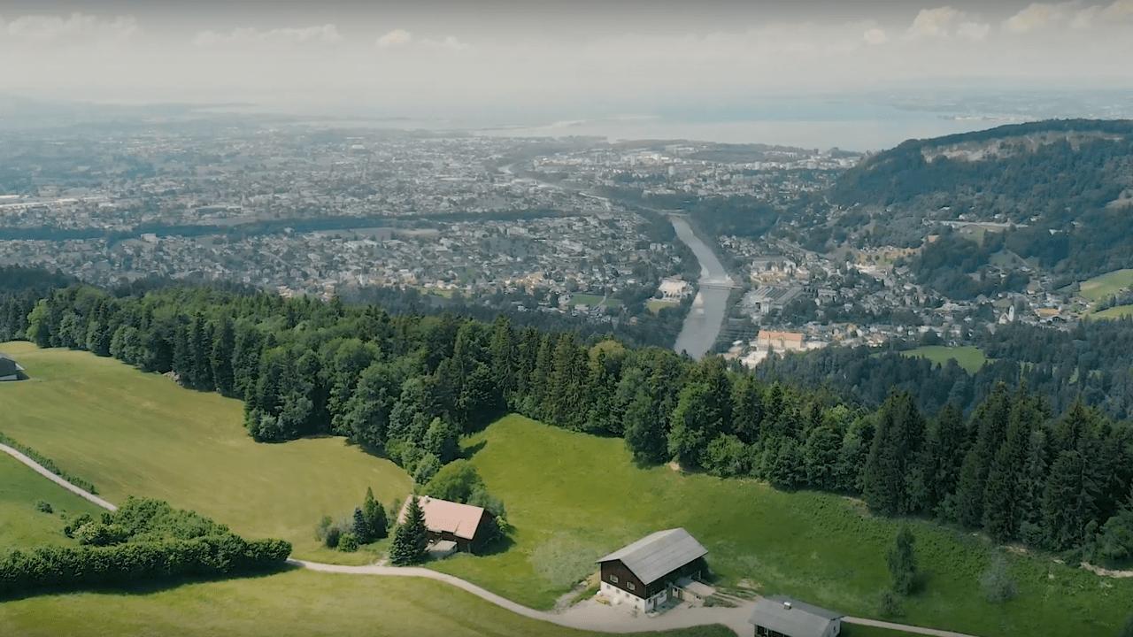 Ausblick Bregenz Wanderei