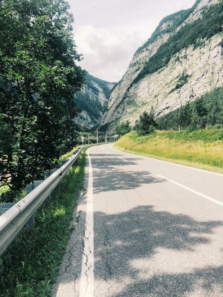 Straße Golling Wanderei