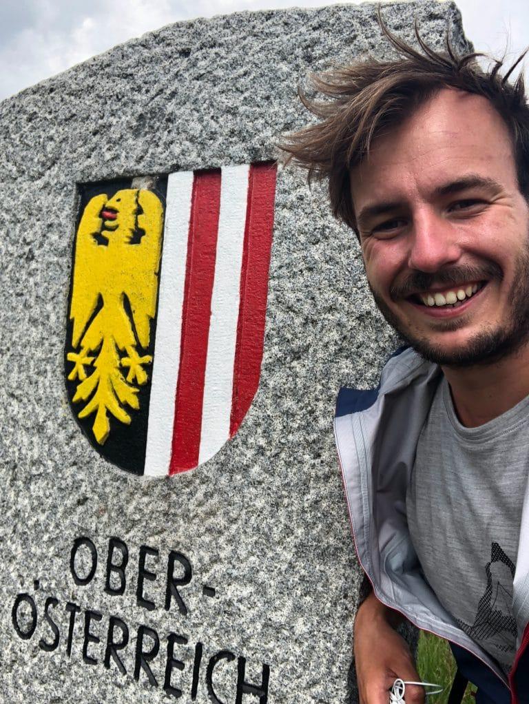 Grenze Oberösterreich Wanderei