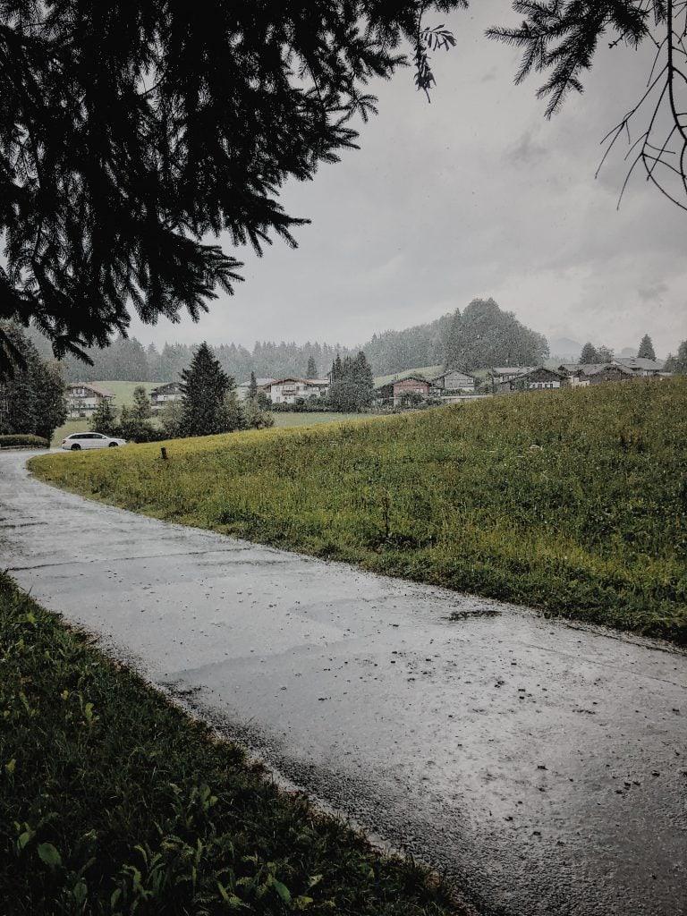 Regen Wanderei