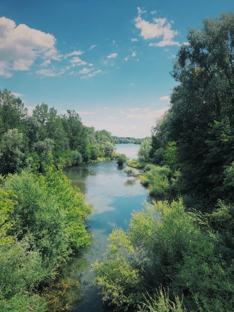 Wanderei Donau
