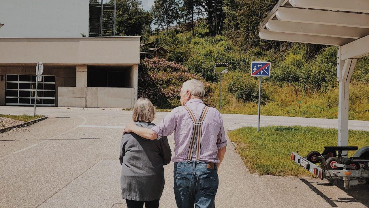 Großeltern Wanderei