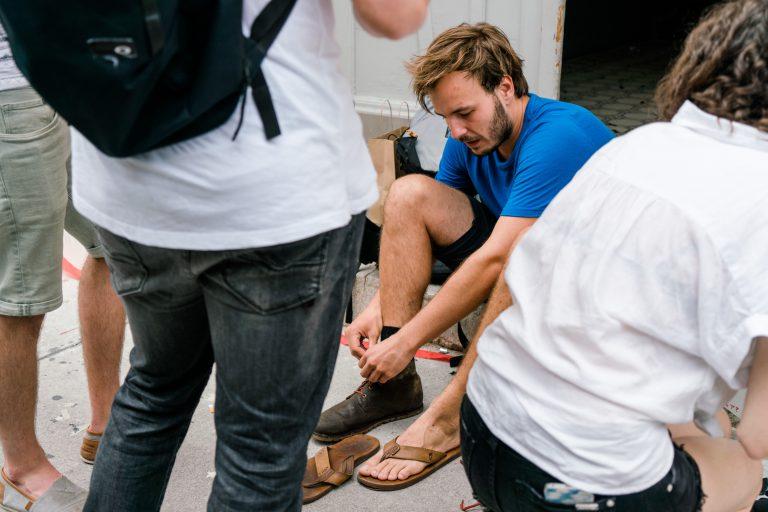 Schuhe Wanderei